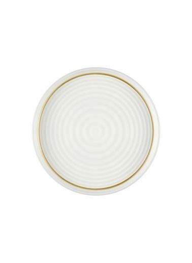 The Mia Drop Pasta Tabağı 6 Lı Set - 19cm Gold Renkli